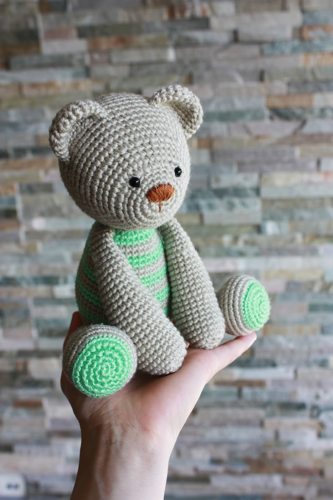 Crochet Pattern Amigurumi Bear : Amigurumi creations by Happyamigurumi
