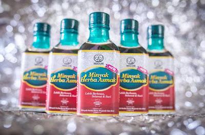 minyak herba asmak, penawar asma, ubat asma