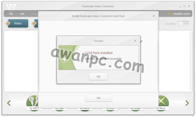 Download Freemake Video Converter Gold Versi terbaru full Key - awanpc