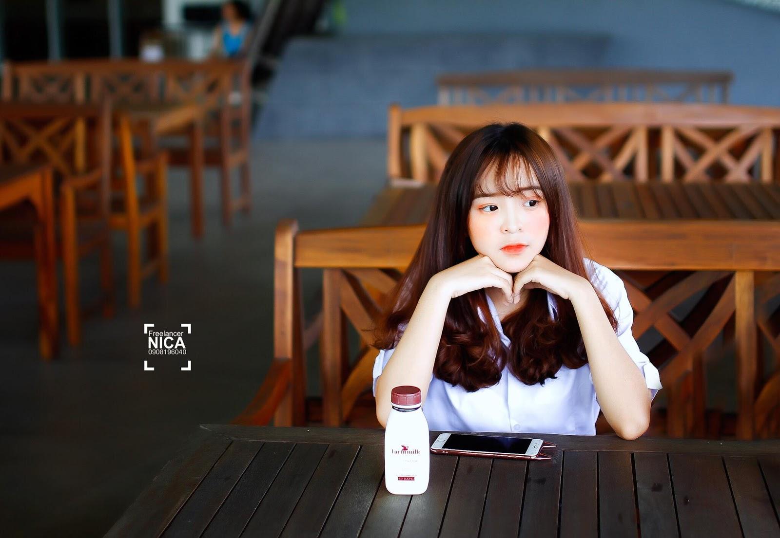 Ngắm ảnh Hot girl Facebook Chu Thị Khánh Vân quá xinh đẹp dễ thương