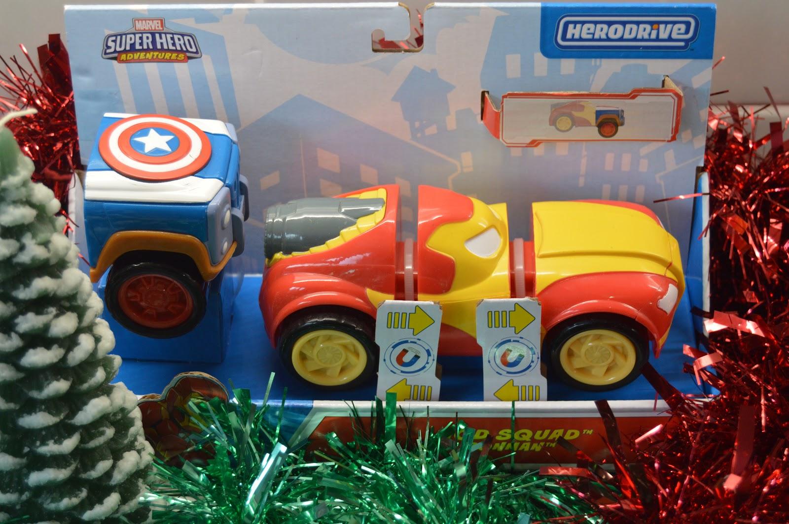 Marvel superheroes hero drive