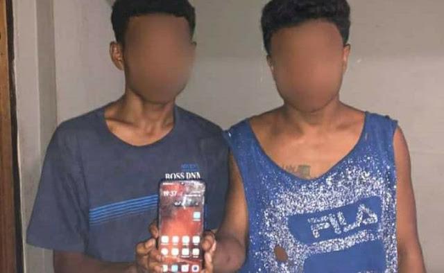 Satuan Reskrim Polretsta Jayapura Tangkap 2 Pelaku Pencurian di APO