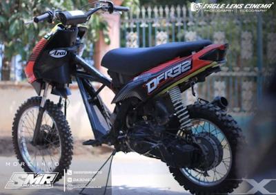 Modifikasi Motor Mio Sporty Trail