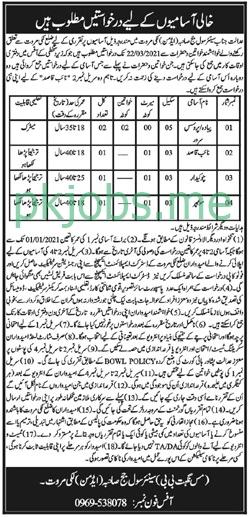 Latest Civil Court Lakki Marwat Posts 2021