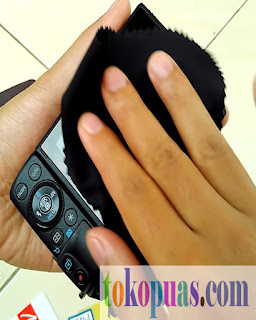 cara mudah dan cepat pasang touch pelindung