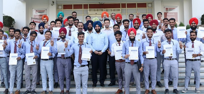 Asian Paints selects 7 Mechanical Diploma Engineering students from Chandigarh Polytechnic College