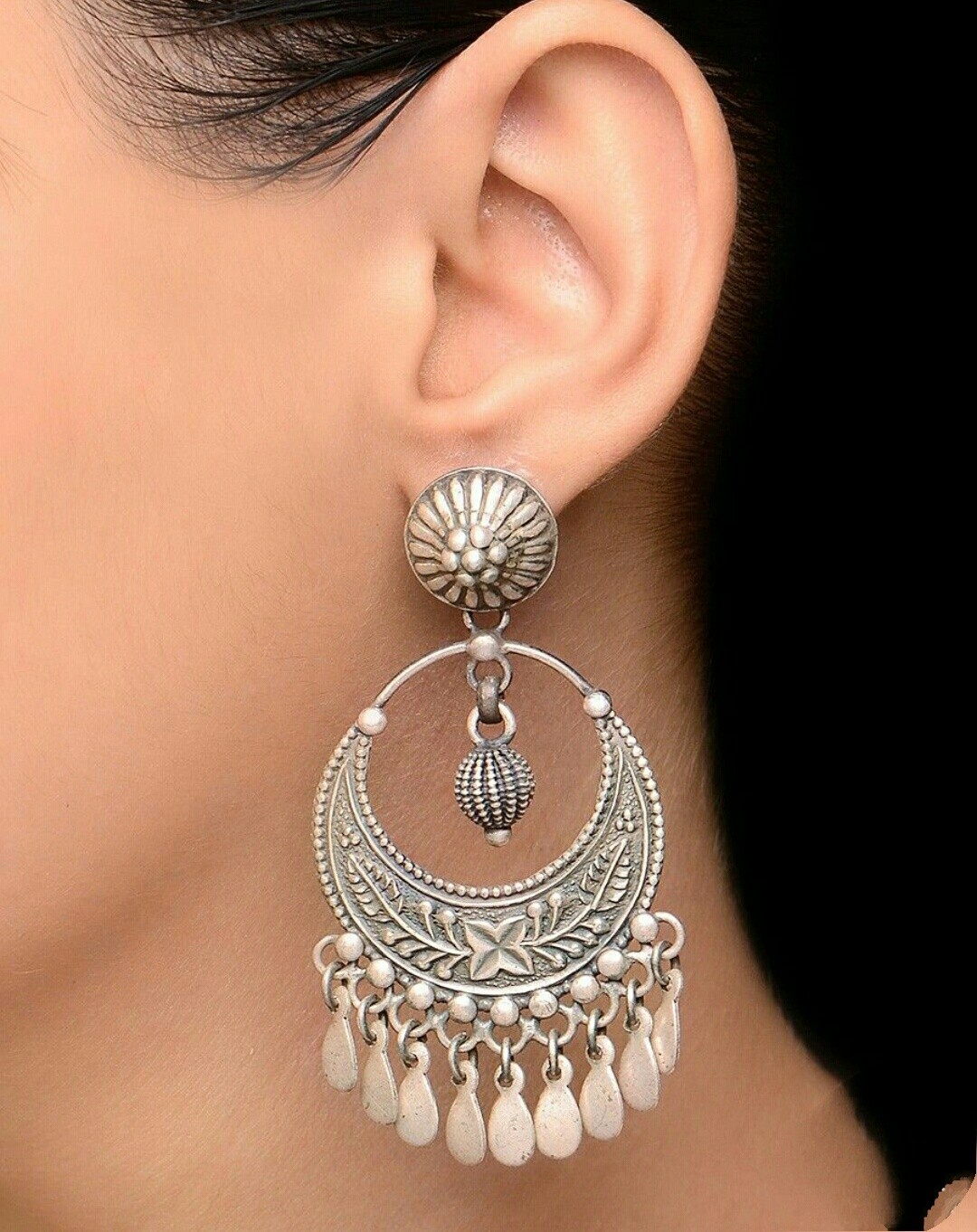 83c997530a Silver earrings are the very unique and latest favorite of these days  fashion lover. Sterling silver earrings are must-haves in your collection.