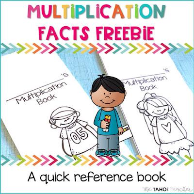 multiplication-facts-freebie