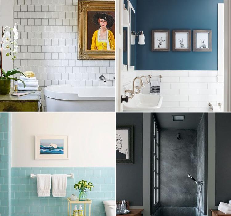 Appendi i quadri in bagno  Arredamento facile