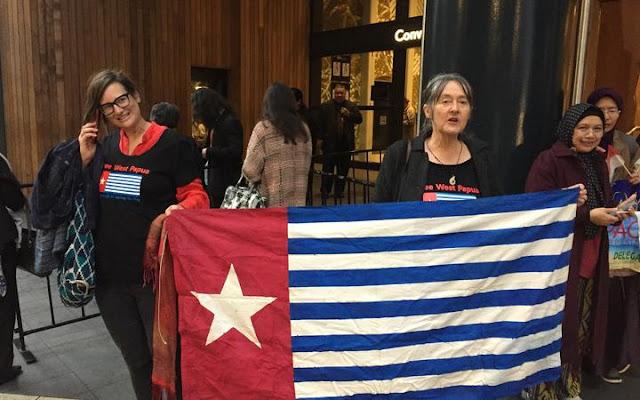 Pameran Dagang Indonesia di Auckland, Warga New Zealand Protes