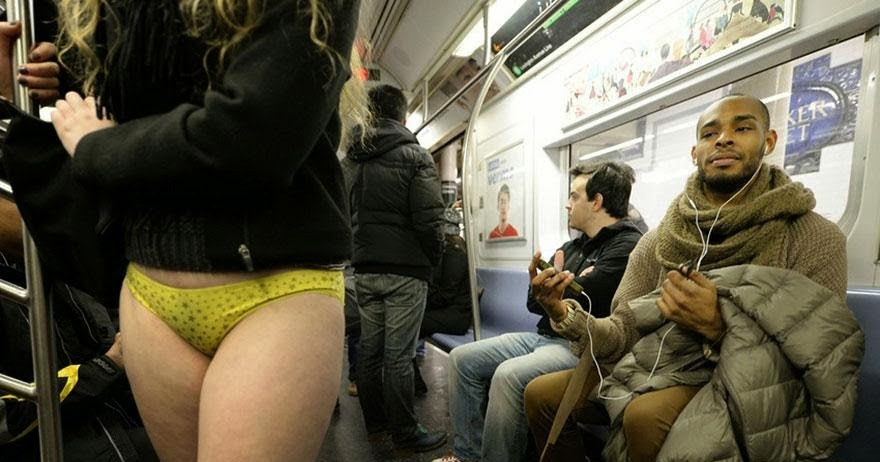 No Pants Subway Ride 2014 Tops Entertainment