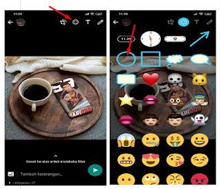 Cara Membuat Lingkaran Di Foto Whatsapp Android