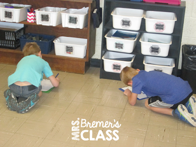 Daily 5 activities for First Grade and Second Grade