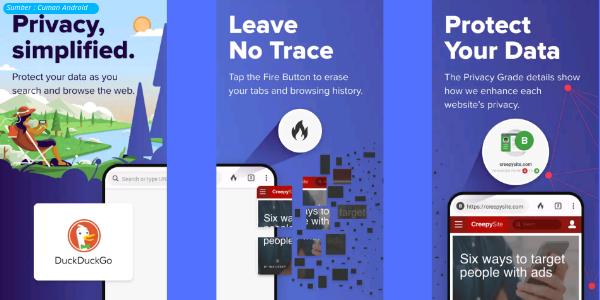 Manfaatkan 5 Aplikasi Android ini Untuk Berselancar di Internet Secara Tak Kasat Mata