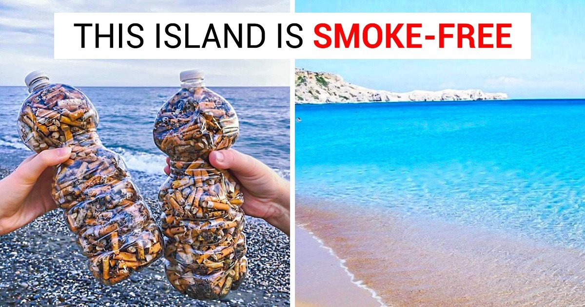 A Greek Island, Astypalaia, Is To Become The First Smoke-Free Island In The World