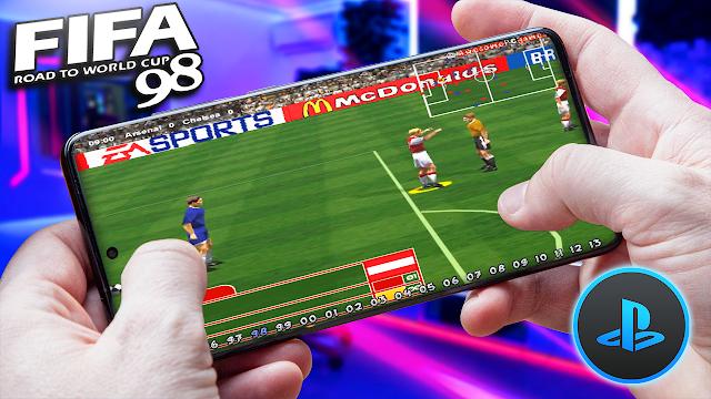 FIFA Soccer '98 Para Teléfonos Android (ROM PS1)