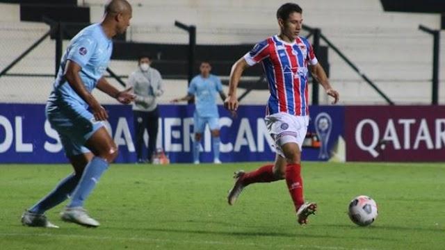 Sul-Americana: Bahia sai na frente, vacila e cede empate ao Montevideo City