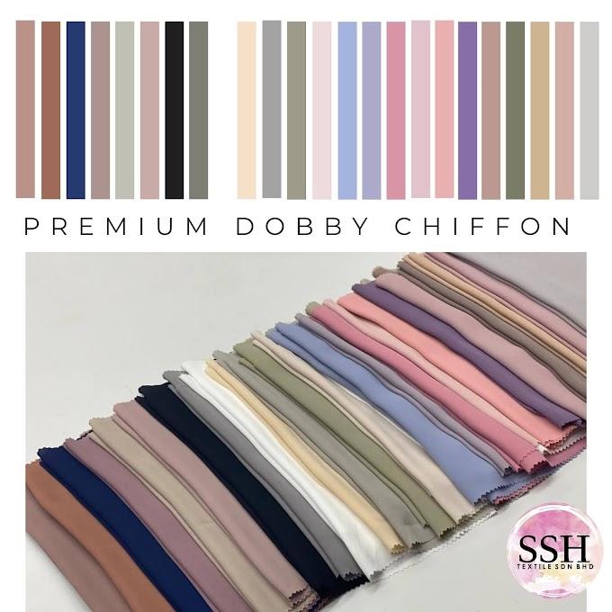 PREMIUM DOBBY CHIFFON