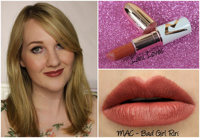 MAC Bad Girl Riri lipstick swatch