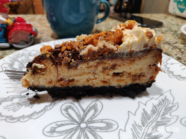 Fantastical Sharing Of Recipes Butterfinger Cheesecake