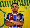 Atleta de Cruz das Almas que joga no Bahia é convocado para seleção brasileira Sub-17