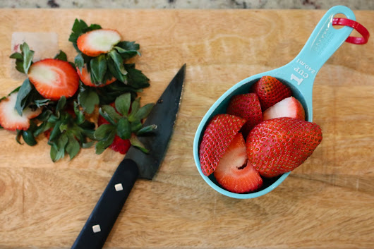 Pretty Real: Super Easy Strawberry Syrup to Make This Weekend