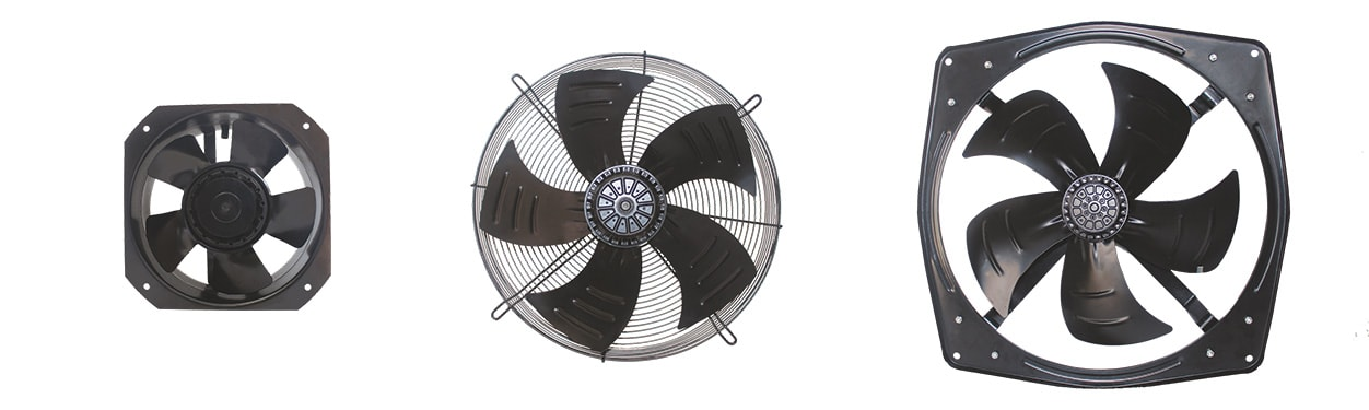 Axial Flow Fans - 200 to 630 mm