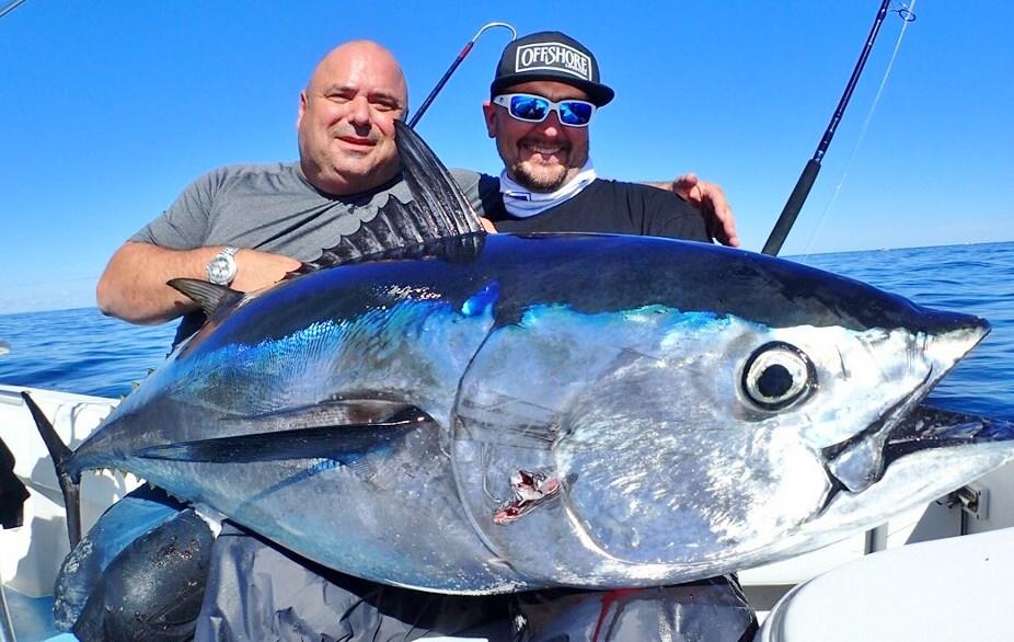 No fluke fishing lots new at the newport boat show for Tuna fishing show