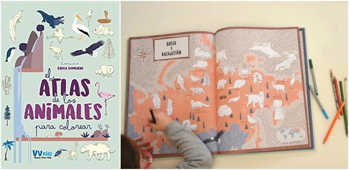 cuentos infantiles especiales sorprendentes asombrosos atlas de los animales para colorear