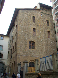 The Torre dei Pulci, close to the Uffizi Gallery, which took the brunt of the 1993 bomb attack