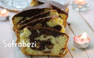 Kakaolu Kuru Uzumlu Kek
