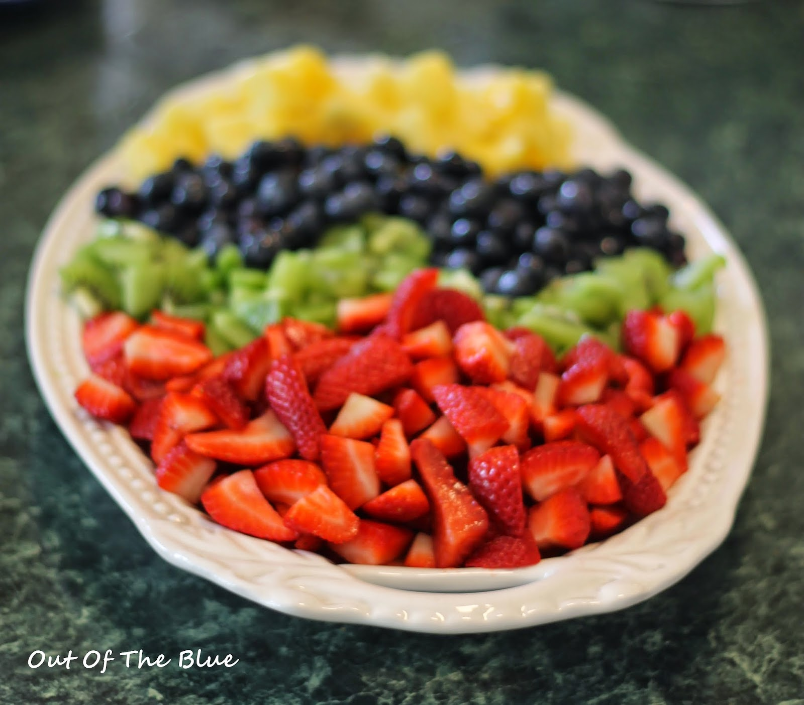Recipes From Out Of The Blue: Easter Egg Fruit Salad