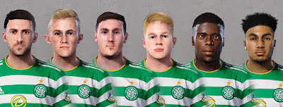 PES 2020 Facepack Celtic 5 by Ultra1312