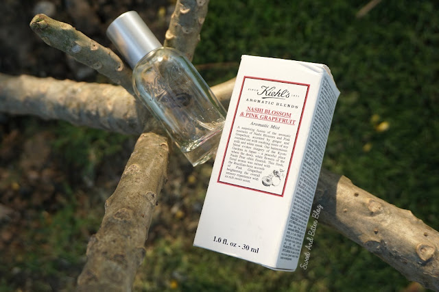 Kiehl's Aromatic Blends Nashi Blossom and Pink Grapefruit Aromatic Mist Review India