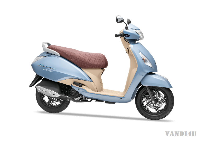 TVS Jupiter Grande With Bluetooth Conectivity Launched In India At Rs.59,900  VANDI4U