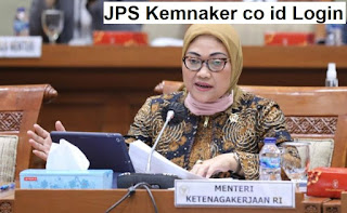 JPS Kemnaker co id Login