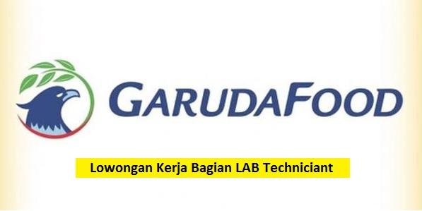 PT Garudafood Putra Putri Jaya Tbk Buka Lowongan Kerja Bagian Lab Techniciant (Lulusan SMA/SMK/Setara)