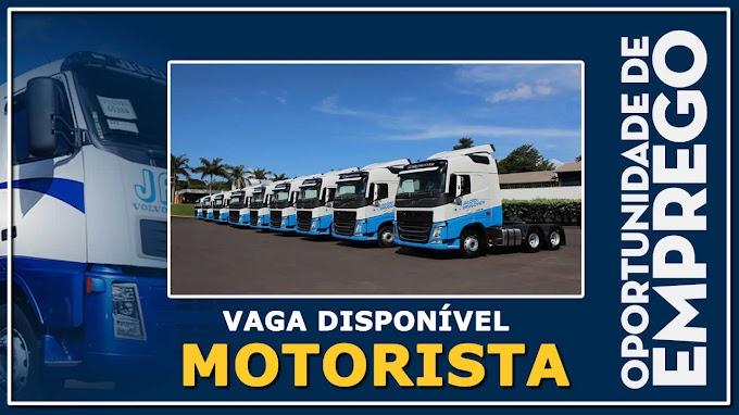 Jaloto Transportes abre vagas para Motorista
