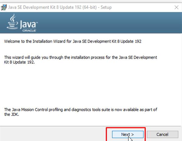 Hướng dẫn cách tải và cài đặt JAVA 8 trên Windows c