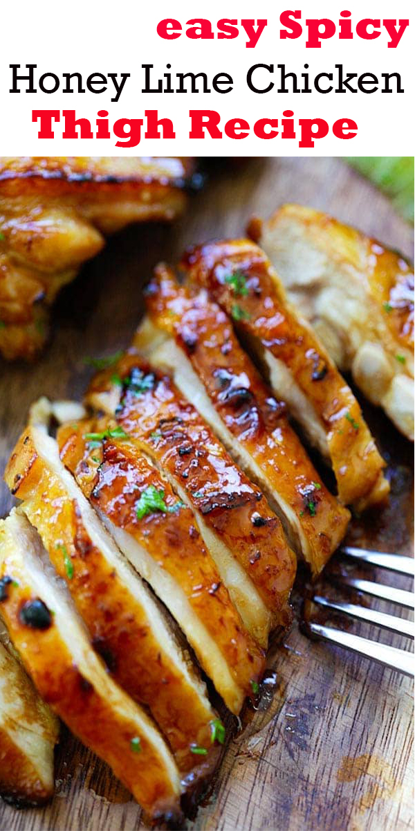 easy Spicy Honey Lime Chicken Thigh Recipe #easy #Spicy #Honey #Lime #Chicken #Thigh #Recipe #easySpicyHoneyLimeChickenThighRecipe