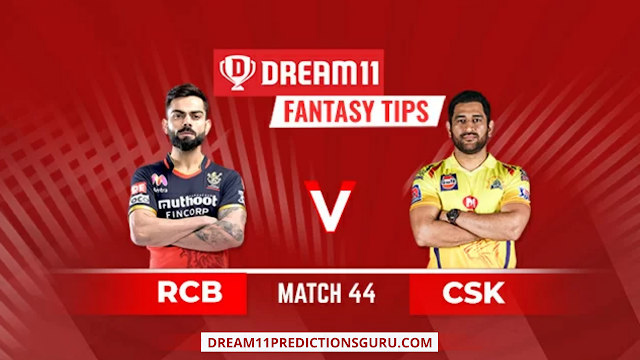 RCB vs CSK Dream11 Expert Tips and Predictions