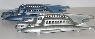 Atomic Space Ship; Dime Store Space Ships; Dime Store Toy; Dime Store Vehicles; Dimestore Space Ships; Dimestore Space Ships; Dimestore Spaceships; Kleeware; Kleeware Spaceship; Pocket Money Toys; Pulp Sci Fi; Pulp Space Ships; Pyro Dime Store; Pyro Plastics; Pyro Toys; Slush-cast; Small Scale World; smallscaleworld.blogspot.com; Space Clipper; Space Liner; Tudor Rose; Tudor Rose Space Toys;