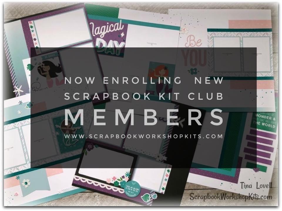 Scrapbooking Kits January 2018