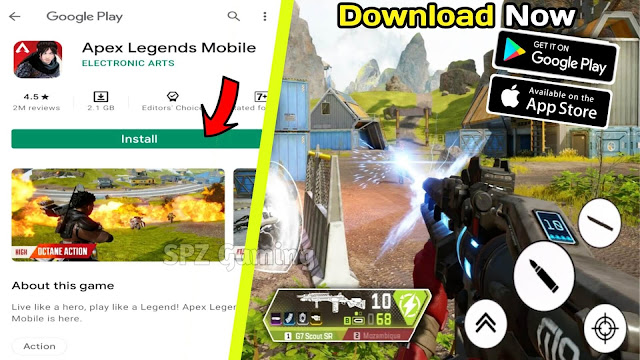 Download Apex Legend For (Android/iOS) | Download Apex Legend Mobile APK+OBB