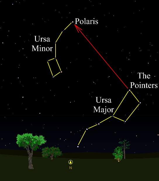 Idaho Skies: December's Star is Polaris