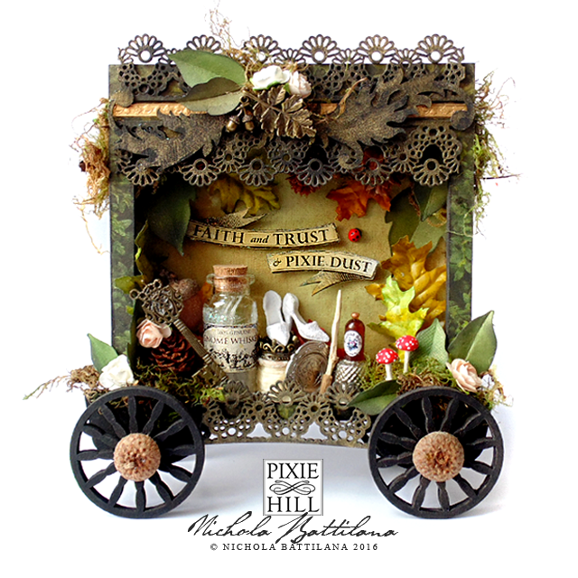 Woodsy Fairy Cart - Nichola Battilana