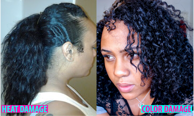 Natural Hair 101: How to Fix Damaged Curls