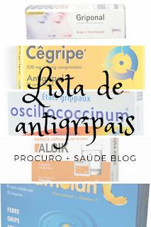 Lista de antigripais em Portugal