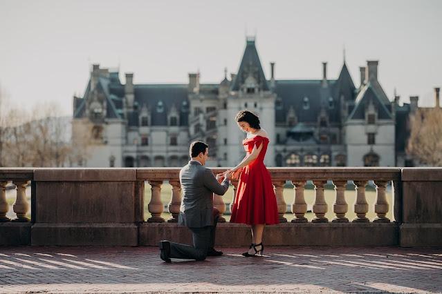 proposal at biltmore estate