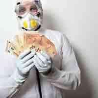 gana dinero desinfectando
